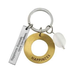 "Zen Schlüsselanhänger ""Happiness"""