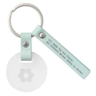 """Schlüsselanhänger """"Gib jedem Tag die Chance..."""""""