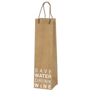 "Geschenktüte ""Save water drink wine"""