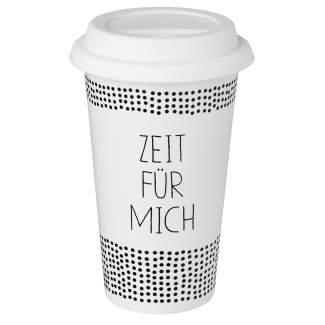 """Thermobecher """"Zeit f�r mich"""""""
