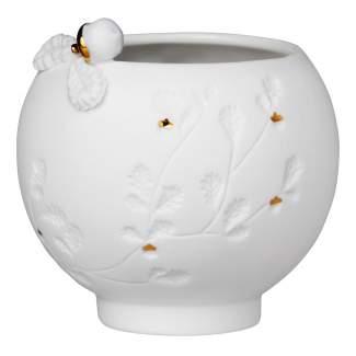 """Porzellan Teelicht """"Nuss"""""""