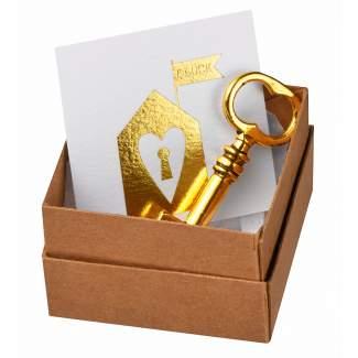 """Message in a box """"Schlüssel zum Glück"""""""