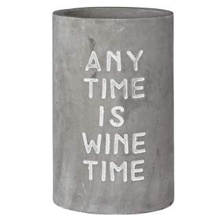 "Weinkühler ""Any time is wine time"""