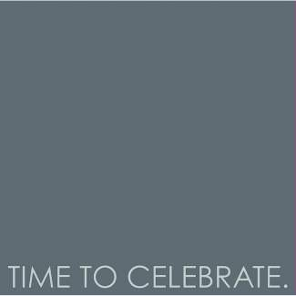 "Serviette ""Time to celebrate"""