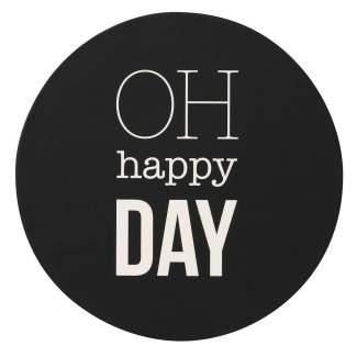 """Happy Day Untersetzer """"Set aus 6"""""""