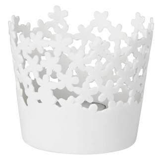 """Weissheiten """"Tischlicht kleine Blüten"""""""