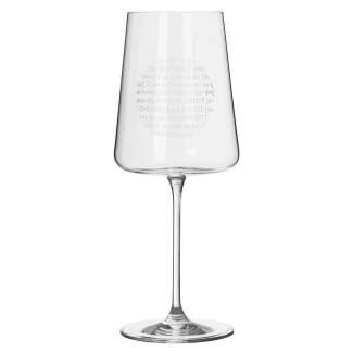 """Weinglas. Vino Apero """"Santé"""""""