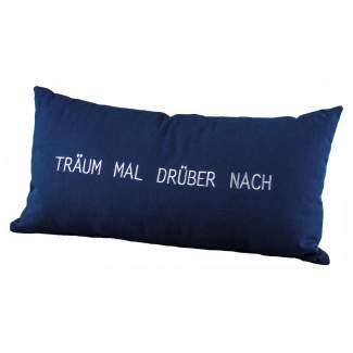 """Tagtraumkissen """"Träum mal drüber nach"""""""