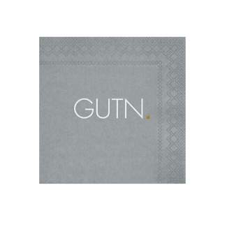 "Cocktailservietten ""GUTN"""