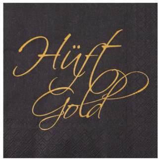 "Servietten ""Hüftgold"""