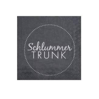 """Cocktailservietten """"Schlummertrunk"""""""