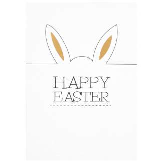 "Oster Postkarte ""Happy Easter"""
