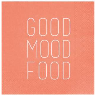 "Servietten ""Good mood food"""