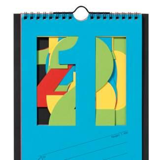 "Streifenkalender 2020 ""Monatskalender, bunt"""