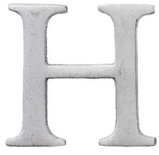 "Aluminium Buchstabe ""H"""