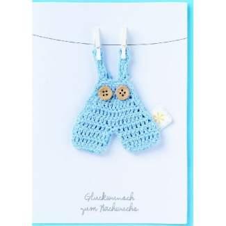 """Baby Welcome Card """"Glückwunsch zum Nachwuchs"""""""