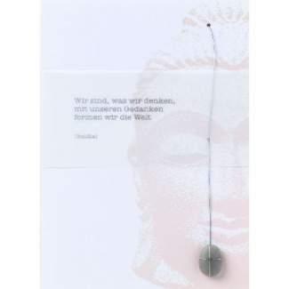 """Zen Karte """"Wir sind, was..."""""""