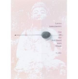 """Zen Karte """"Lerne loszulassen"""""""