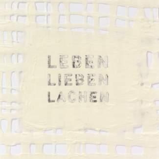 """Traumkarte """"Leben, Lieben, Lachen"""""""