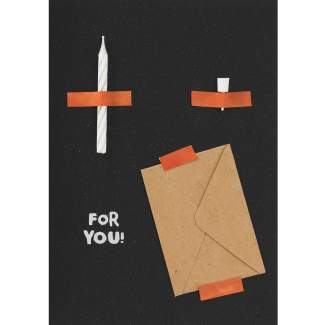 """Artefakte Karte """"For You"""""""