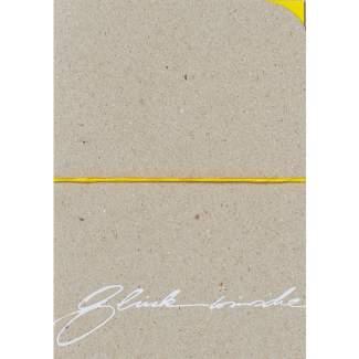 """Kalligrafie Karte """"Glückwünsche"""""""