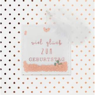 "Streugut Karte ""Viel Glück"""