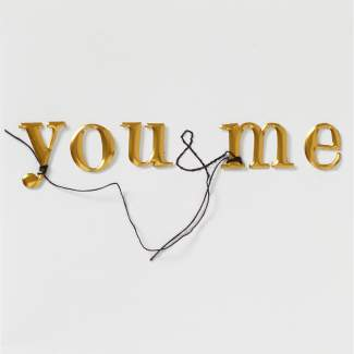 "Kunststückkarte ""You & Me"""