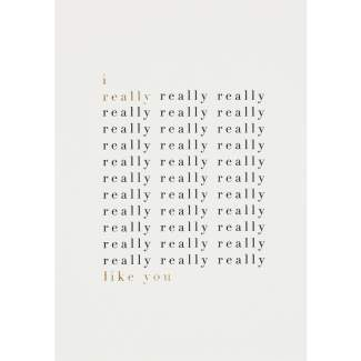 "Lieblingspostkarte ""I really really ..."""