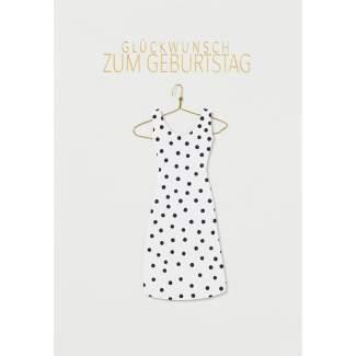 """Kleiderkarte """"Glückwunsch zum Geburtstag"""""""