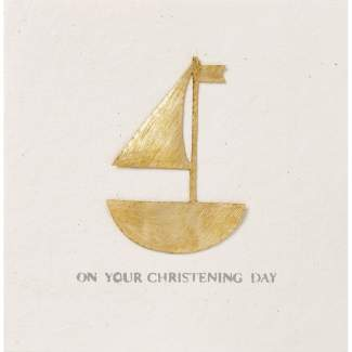 "Festtagskarte ""Christening day"""