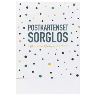 "Postkartenset ""Sorglos Set aus 6"""