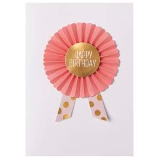"""Ordenkarte """"Happy Birthday"""""""
