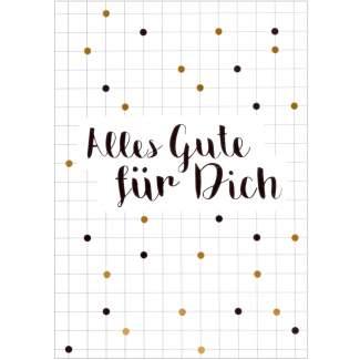 """Partykarte """"Alles Gute für Dich"""""""