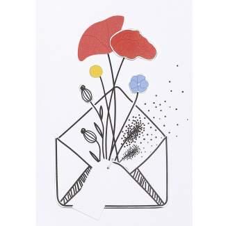 """Wiesenblumenkarte """"Bunter Strauß"""""""