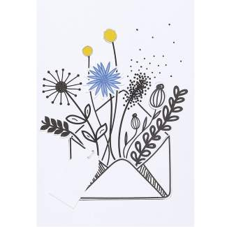 "Wiesenblumenkarte ""Kornblume"""