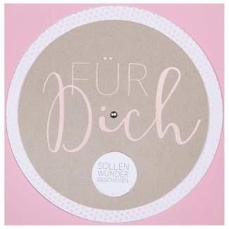 """Wunschradkarte """"Für Dich..."""""""