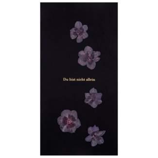 """Natur Trauerkarte """"Du bist nicht allein"""""""
