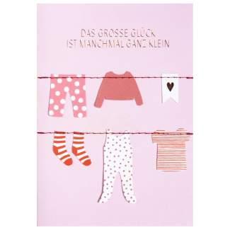 "Kleiderkarte ""Das grosse Glück"""