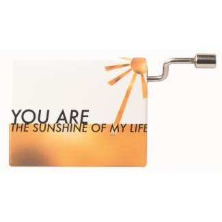 "Poesieorgel ""You are the sunshine of my"""