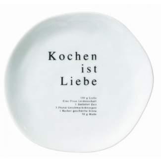 """Poesie et Table Teller """"Kochen ist Liebe"""""""