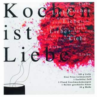 """Poesie et Table Rezeptbuch """"Kochen ist Liebe"""""""