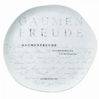 """Poesie et Table Gourmet Teller """"Gaumenfreude"""""""