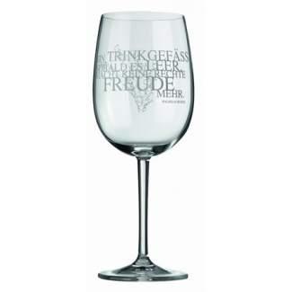 """Weinglas """"Ein Trinkgefäß.."""""""