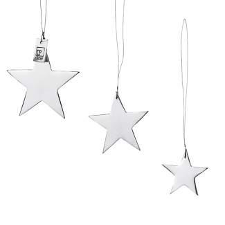 """Silberne Sterne """"3er Set"""""""