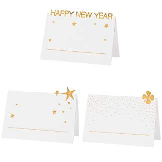 "Platzkarten. Set aus 6 ""Happy new Year"""