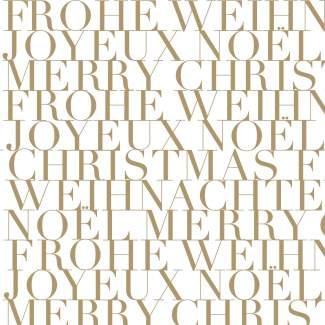 """Weihnachtsservietten """"Frohe Weihnachten"""""""
