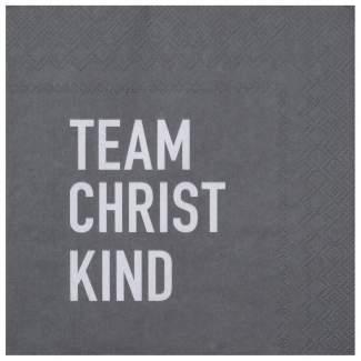 """Weihnachtsservietten """"Team Christkind"""""""