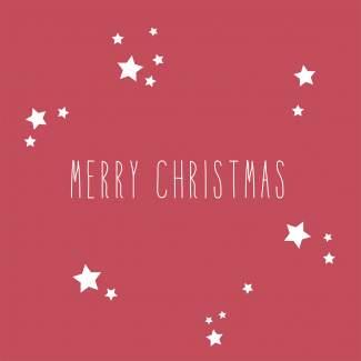 """Weihnachtsservietten """"Merry Christmas"""""""