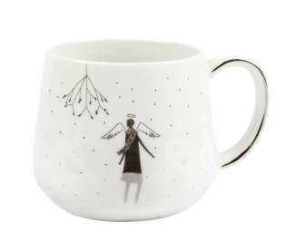 """Winterwunderland. Tasse """"Mistelzweig"""""""