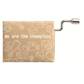 "Poesieorgel ""We are the champions"""